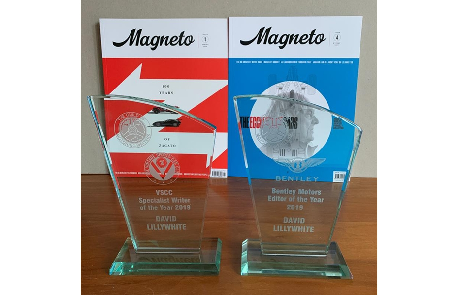 Magneto Magazine wins awards