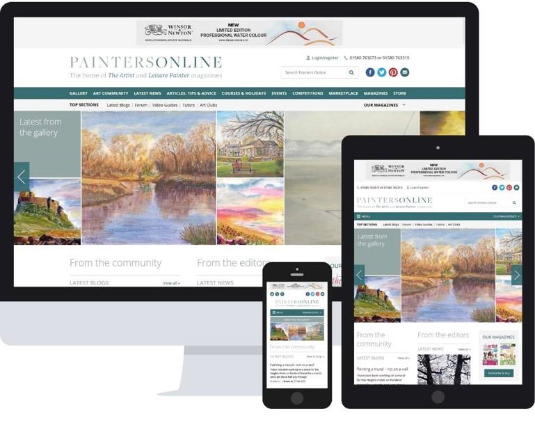 Website launched for Painters Online