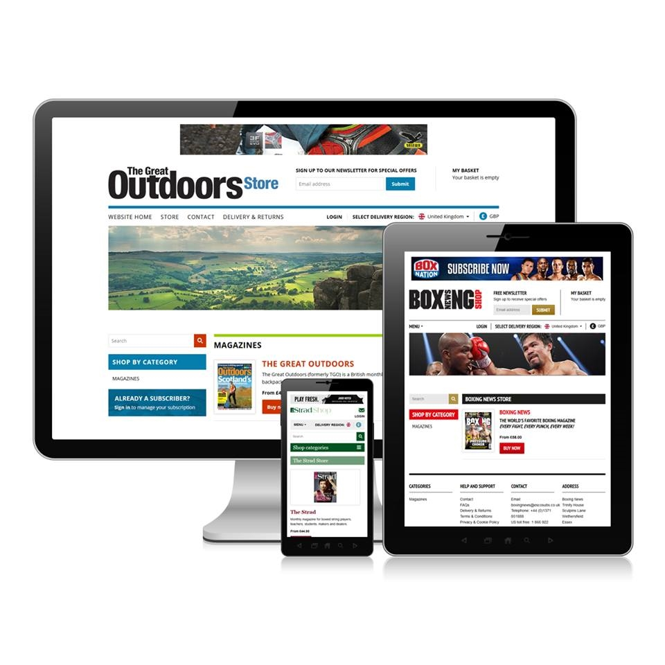 eCommerce site launched for Newsquest Specialist Media