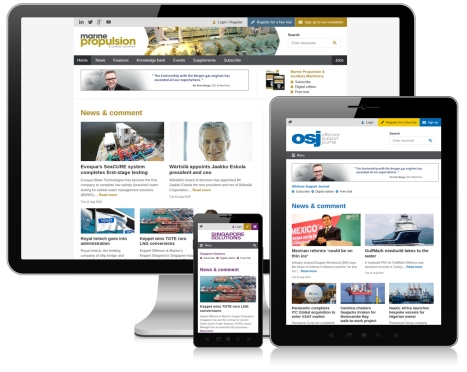 Multiple websites launched for Riviera Maritime Media