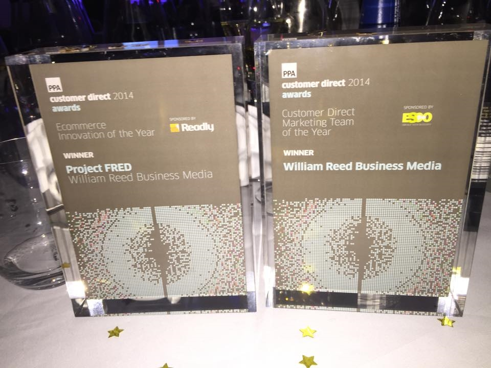 Congratulations to William Reed for winning two PPA Awards