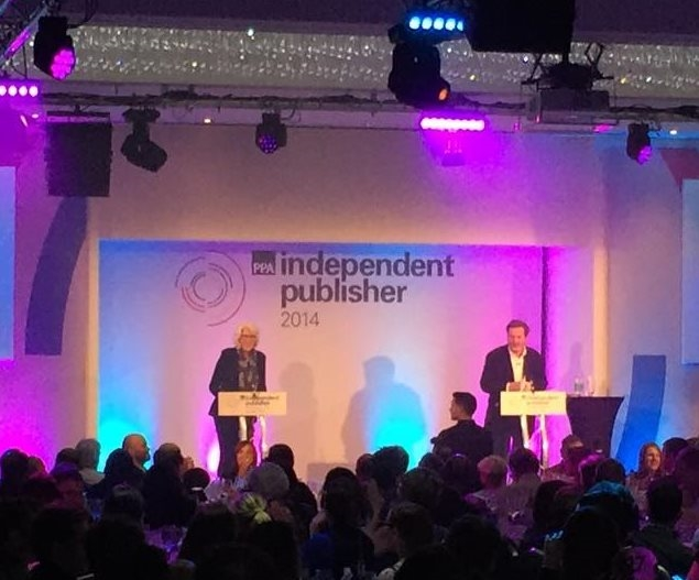 ESco presents award at the PPA Independent Publishers Awards Ceremony